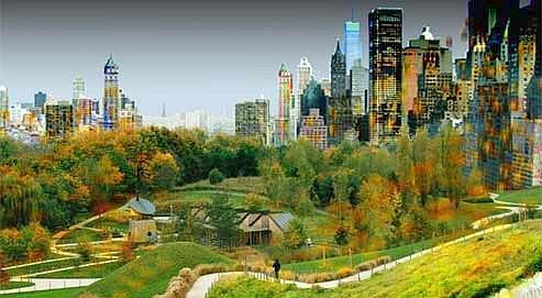 Roland Castro veut installer une sorte de Central Park au cœur de La Courneuve. (Equipe Atelier Castro Denissof Casi)