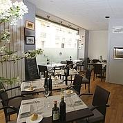 Cadre sobre et cuisine de produits à L'Invitation.