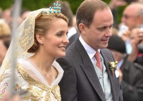 le prince Jean d'Orléans et son épouse Philomena de Tornos y Steinhart.