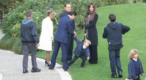 Berlusconi, cinq enfantspour un seul empire