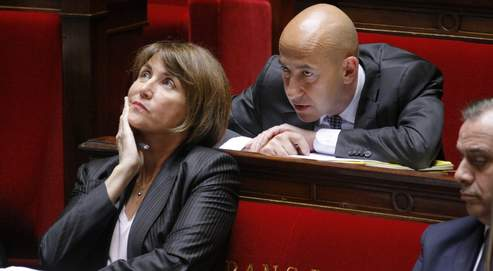 Christine Albanel ministra de cultura del gobierno frances
