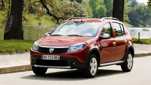dacia sandero stepway l 39 aventure bas prix. Black Bedroom Furniture Sets. Home Design Ideas