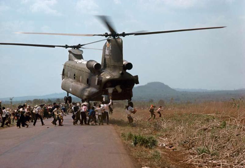 Guerre du viet nam, viet nam du sud, 1975. après la chute de saïgon