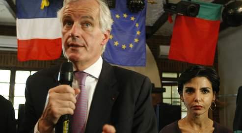 Michel Barnier et Rachida Dati mènent la liste UMP en Île-de-France.