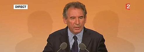 Bayrou : «Je prends ma part de responsabilité»<br/>