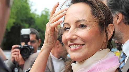 Ségolène Royal, après avoir voté dimanche 7 juin dans son fief de Melle lors des élections européennes, au cours desquelles le PS a subi une cuisante défaite. (Alain Jocard / AFP)