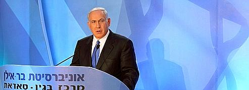 Nétanyahou accepte le principe d'un État palestinien<br/>