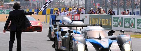 Doublé Peugeot <br/>aux 24 Heures du Mans<br/>