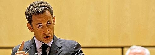 Social : Sarkozy plaide pour des règles mondiales<br/>