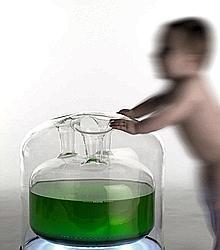 O, de Mathieu Lehanneur, est un générateur d'oxygène pour la maison. (DR)