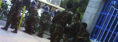 Les bassidjis règnent en maîtres<br/>sur Téhéran<br/>