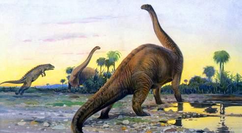 Le poids des dinosaures revu à la baisse