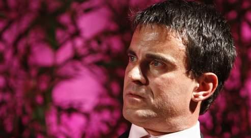 Manuel Valls (ici, le 2 juin nà Montgeron) vient de fonder le club À gauche, besoin d'optimisme!
