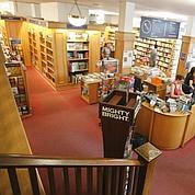 La librairie W.H.Smith, rue de Rivoli.