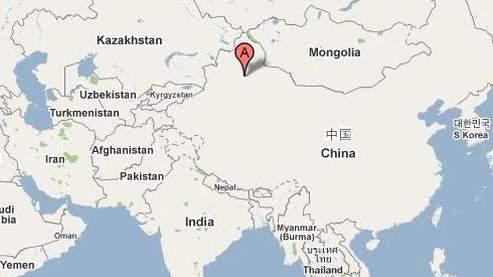 Trouver la Chine par correspondance