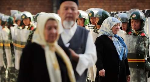 Le Xinjiang compte 8 millions d'Ouïgours, une communauté mulsumane et turcophone.