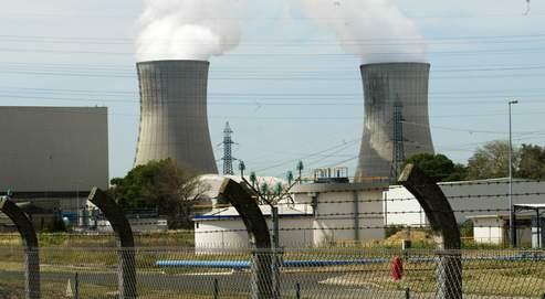 La centrale nucléaire de Tricastin, en 2003.