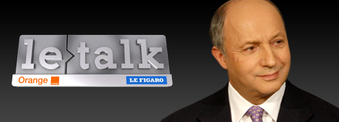 Laurent Fabius,invité du Talk