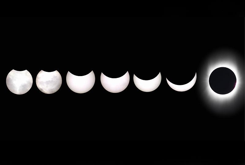 Au cours de cette <b><a href=''http://www.lefigaro.fr/photos/2009/07/22/01013-20090722DIMWWW00211-l-eclipse-du-siecle-en-images.php'' target=''_blank'' >éclipse exceptionnelle </a></b>, le Soleil a été complètement masqué par la Lune pendant six minutes et 39 secondes dans une zone peu habitée du Pacifique, un record qui ne sera pas battu avant l'année 2132. L'obscurité a duré trois à quatre minutes en Inde et cinq minutes en moyenne en Chine, dont Shanghaï, où le temps couvert a gâché une partie du spectacle.