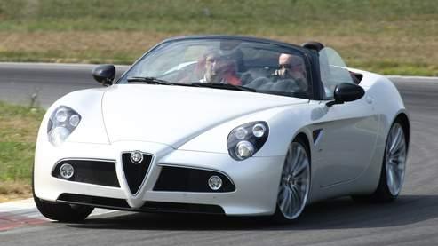 Alfa 8C Spider: l'air et la chanson