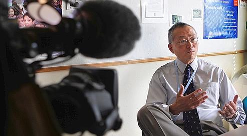 Keiji Fukuda, adjoint du directeur général de l'Organisation mondiale de la santé (OMS).