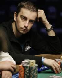 Antoine Saout, le 15 juillet à Las Vegas, durant le World Series Of Poker (WSOP) 2009.