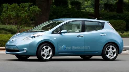 Plutôt agréable à regarder, la Leaf est aussi la première voiture totalement conçue autour de l'électrique et non une thermique adaptée pour la circonstance.