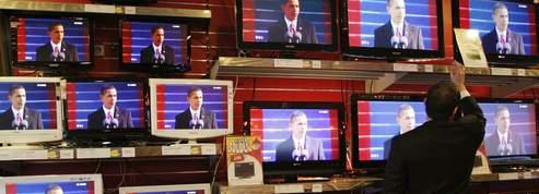 L'omniprésence d'Obama<BR> lasse les télévisions<br/>