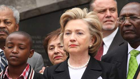 Clinton regrette que les USA ne fassent pas partie de la CPI