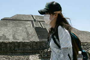 Le Mexique est à éviter si l'on ne veut pas être contraint de porter un masque.