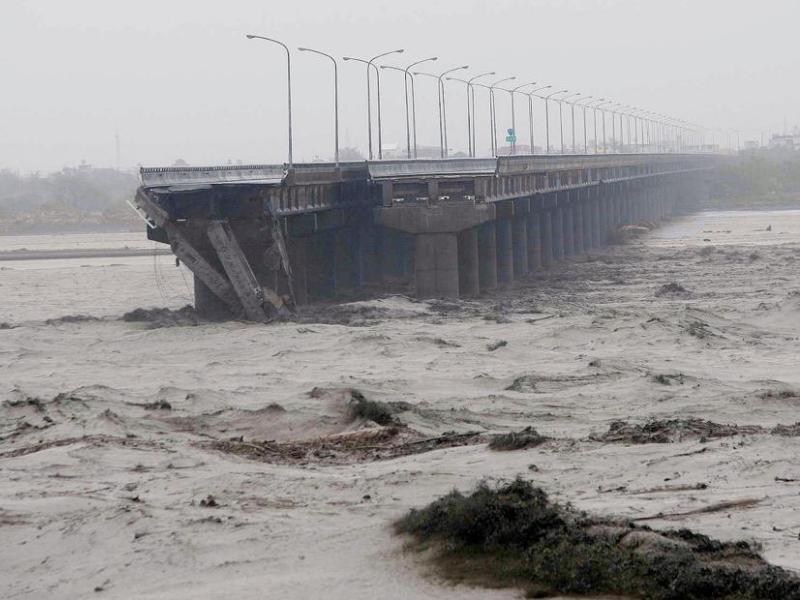 Durant le week-end, dans l'île de Taïwan, le typhon a fait trois morts et au moins 31 disparus.