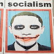 Obama grimé en «Joker».