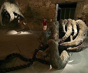 «Budda's hands» de Huang Yong Ping, à la dernière Biennale de Venise.