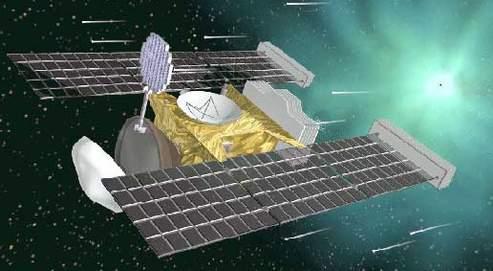 Les particules collectées en 2004 dans des cubes d'aérogel par la sonde ont été rapportées sur Terre en 2006 dans le désert de l'Utah.
