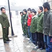 Dans une clinique de rééducation en 2007 en Chine.