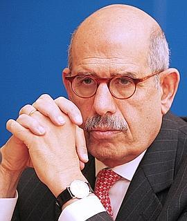 Mohammed ElBaradei, directeur de l'AIEA