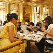 A découvrir d'urgence, les «gourmandises de Camille» au Dali de l'Hôtel Meurice.