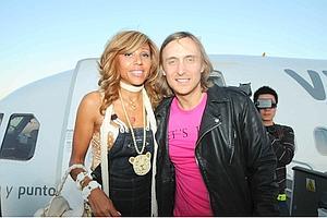 David et Cathy Guetta (ici à Ibiza, en juin) gèrent leur empire comme une PMe familiale.