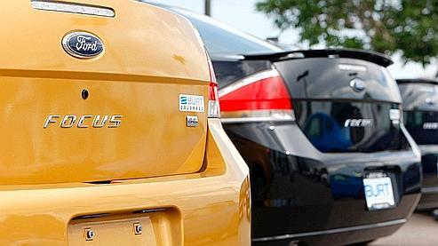 Les ventes de Ford ont bondi de 17% en août
