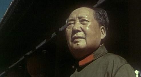 Mao Tsé-toung à Pékin,en 1966.