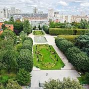 Parc de Choisy à Paris XIIIe.