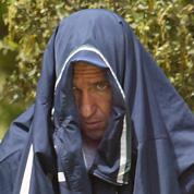 Pascal Payet en mai 2003, lors de son arrestation après une première évasion.
