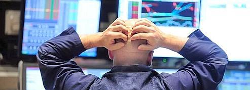 Un opérateur à la Bourse de New York.