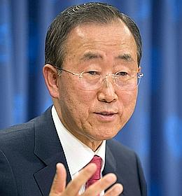 Ban Ki-moon en appelle aux consciences sur le climat