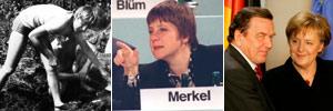 Merkel, de l'ex-RDA à la chancellerie