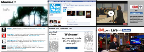 Forts de leur capacité à produire de l'information, les médias traditionnels peaufinent leurs recettes sur la Toile.
