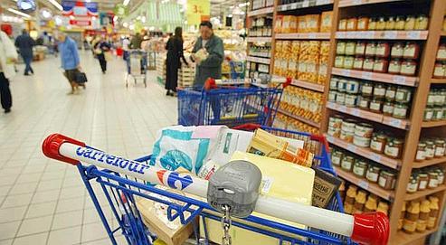 Le volume de consommation a triplé en un demi-siècle, selon une étude de l'Insee publiée vendredi. (Photo Jean-Christophe Marmara / Le Figaro)