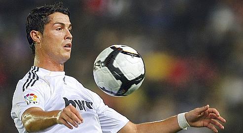 Cristiano Ronaldo,la star portugaise du Real.