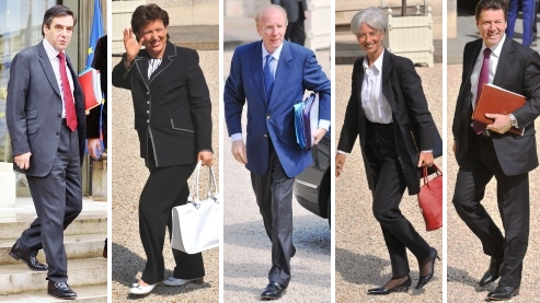 Nicolas Sarkozy met ses ministres au régime