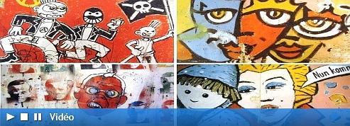 �Peindre sur le Mur <br/>�tait un acte politique�<br/>
